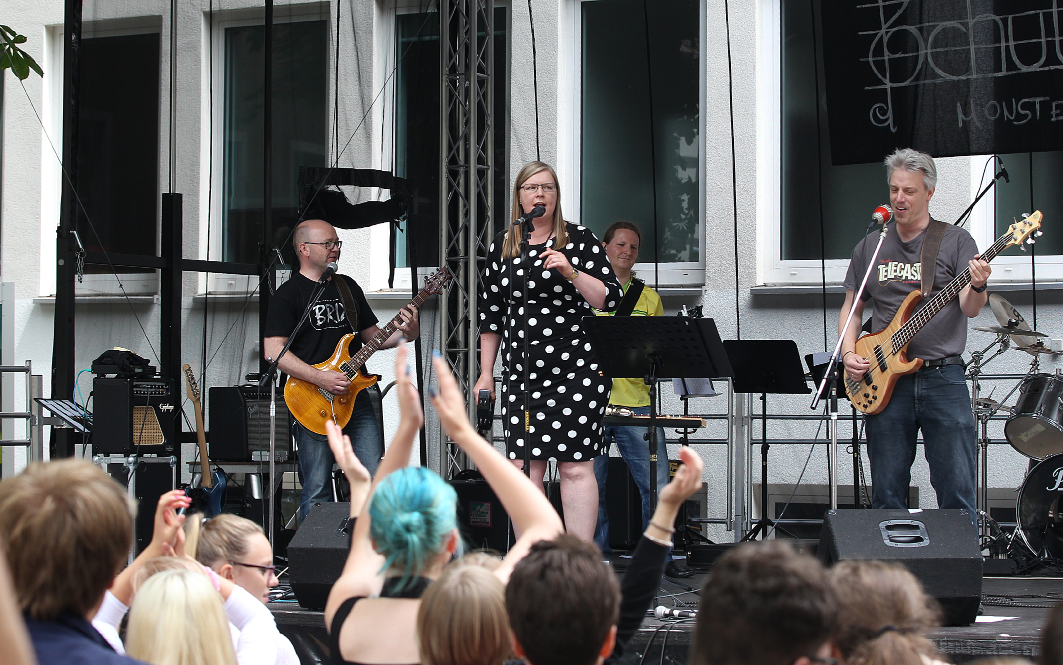 200 Jahre Gymnasium Kleine Burg Tag der offenen Tür mit Musik
