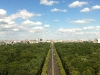 Blick von der Siegessäule Richtung Brandenburger Tor